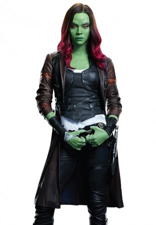 Gamora Guardians of the Galaxy Vol. 2 Coat