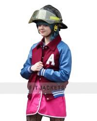 Departures Maisie Williams Varsity Jacket