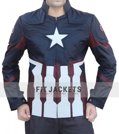chris evan Captain America Civil War Jacket