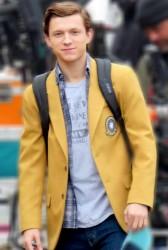 Spiderman Homecoming Yellow Coat