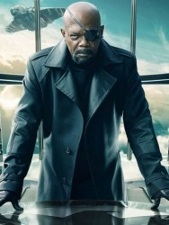 Captain American Nick Fury Leather Coat