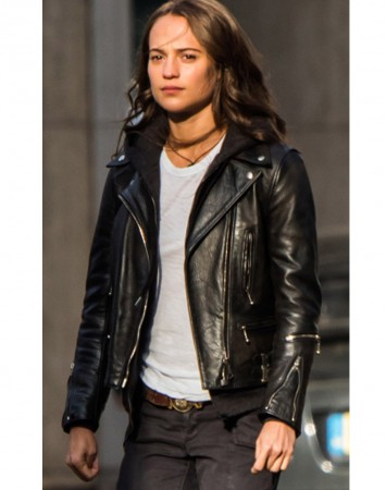 Tomb Raider Alicia Vikander Jacket
