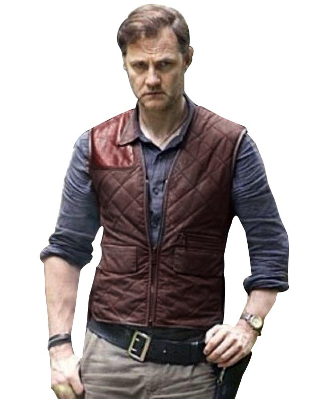 554bc4bab The Walking Dead Governor Vest - Fit Jackets