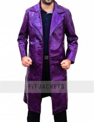 Suicide Squad Jared Leto Joker Crocodile Coat
