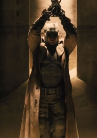 Batman V Superman Long Batman Coat