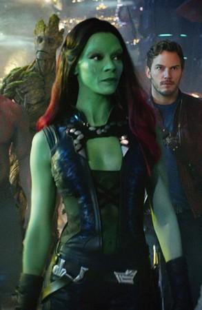 Guardians Galaxy Vol. 2 Gamora Zoe Saldana Vest - Fit Jackets