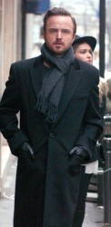 Aaron Paul Wool Coat
