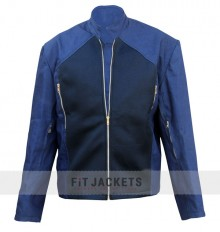 Steve Rogers Blue Captain America Jacket