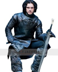 The Game of Thrones Kit Harington jacket