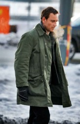 Harry Hole Coat | The Snowman Michael Fassbender Coat