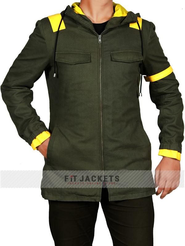 e50a2be324a Tyler Joseph Twenty One Pilots Green Jumpsuit Jacket Hoodie. ( ) IN STOCK.  Tyler Joseph Jumpsuit Jacket