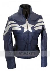 captain america jacket for women