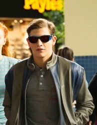 X Men Apocalypse Tye Sheridan Cyclops Leather Jacket