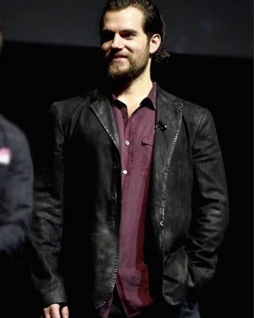 Superman Justice League Henry Cavill Jacket