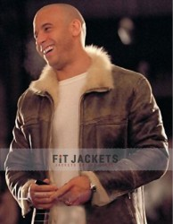 XXX Vin Diesel Xander Cage Leather Fur Jacket