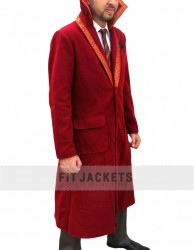 Benedict Cumberbatch Doctor Strange Red Coat