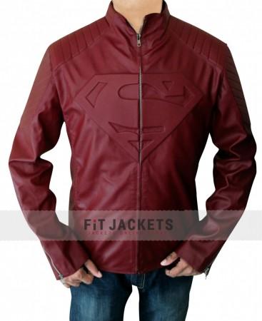 Red Superman Smallville Jacket