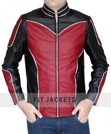 paul rudd  antman leather jacket