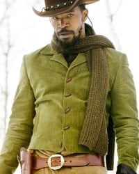 Jamie Foxx Django Cotton Jacket