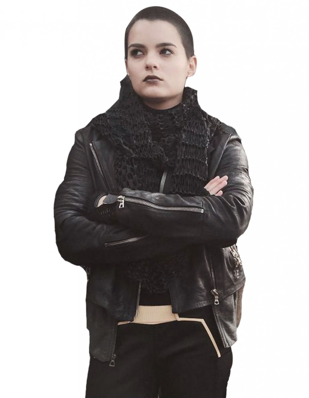 Deadpool brianna hildebrand jacket for women