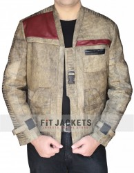 Finn Star Wars Jacket Tan Color