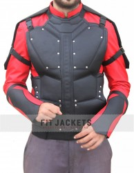 Suicide Squad Will Smith Deadshot Leather Jacket