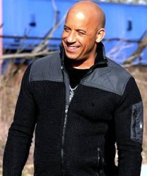 XXS Return of Xander Cage Vin Diesel Black and Grey Cotton Jacket