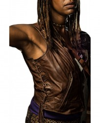 Michonne leather Vest