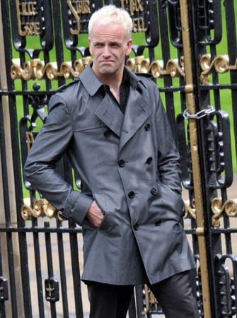 Jonny Lee Miller Trench Coat