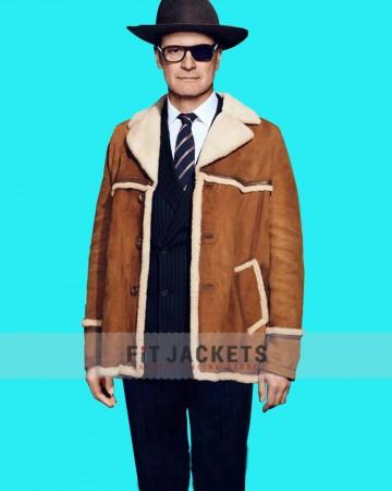 harry  Hart Brown Shearling Coat