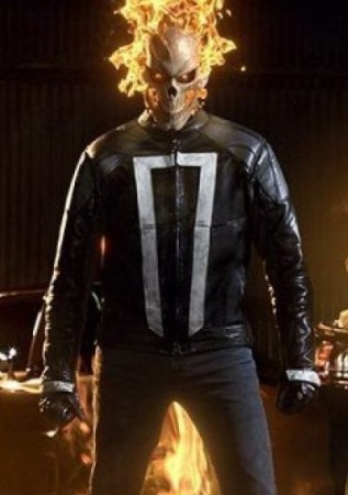 Gabriel Luna Ghost Rider Agents of Shiled Jacket