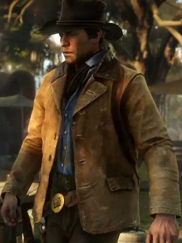 Red Dead Redemption Ii Arthur Morgan Leather Jacket Fit